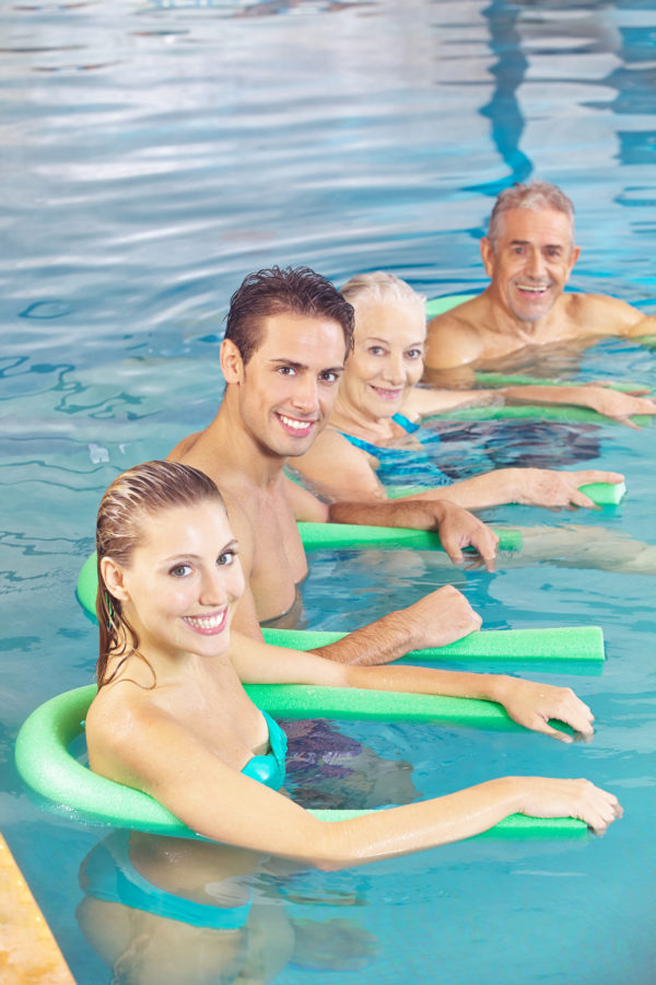 Aqua-Training (Aquafitness im Tiefwasser)